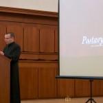 Marek Krošlák prednáša o sv. Alfonzovi